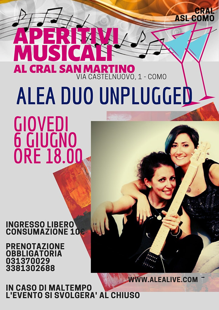 Immagine Apericena musicale con Alea Duo Unplugged