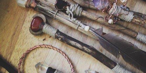 EXPRESSIVE ARTS: Power Sticks & Magic Wands