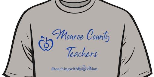 Monroe County Teachers #teachingwith2020vision