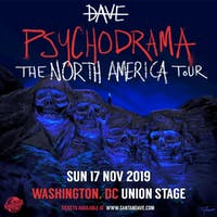 Dave - PSYCHODRAMA NORTH AMERICA TOUR