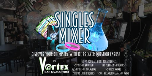 Project: First Dates - Singles Mixer at the VORTEX