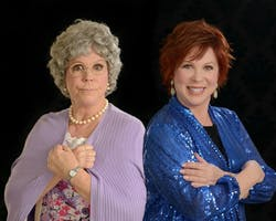 Vicki Lawrence and Mama
