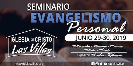 Seminario en Evangelismo Personal entradas