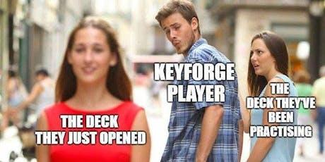 Keyforge Sealed Tournament tickets