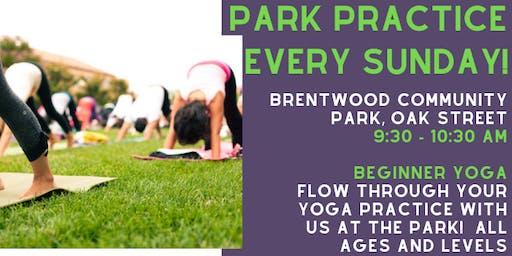 FREE Park Practice ~ Yoga & Tai Chi ~