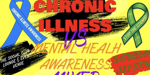 3/31 Team US Presents Chronic illness VS Mental Heatlh Awareness Mixer
