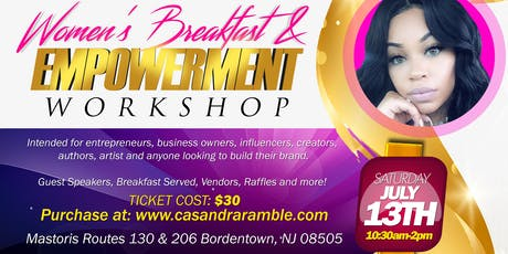Women's Breakfast & Empowerment Workshop tickets