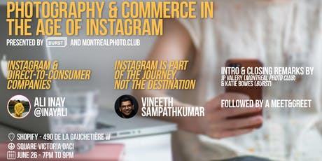 Photography & Commerce in the Age of Instagram billets