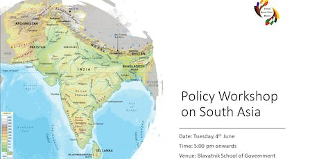 Policy Workshop on South Asia tickets