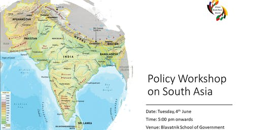 Policy Workshop on South Asia