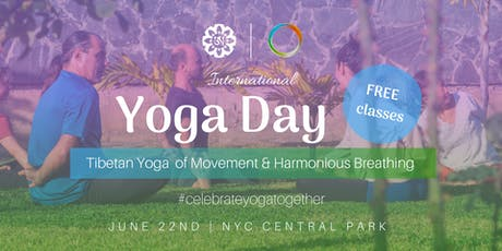 Celebrating International Yoga Day in Central Park tickets