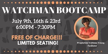 Watchman Bootcamp  tickets