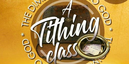 Tithing Class