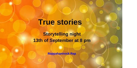 True stories with a new theme each month tickets