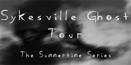 Sykesville Ghost Tours!