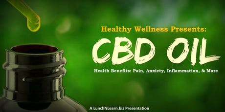 CBD Oil: Relief From Pain, Anxiety, Inflammation, & More! tickets