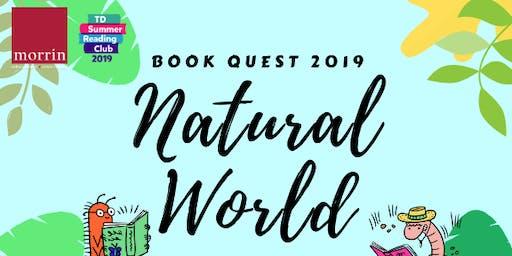 Book Quest: Woodland Creatures (ages 3-7)/ Créatures de la forêt (3-7 ans)