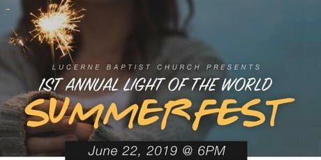 Light of the World- Summer Fest 2019 tickets