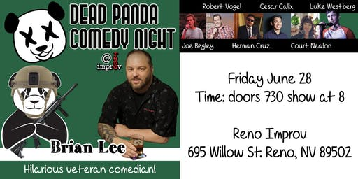 Dead Panda Comedy Night - Starring Brian Lee