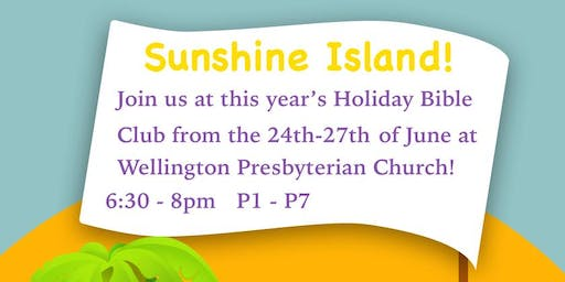 Wellington Holiday Bible Club 2019