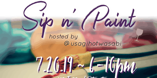Usagi's Sip and Paint 2019