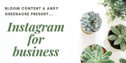 Instagram for business - PM workshop