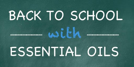 Back to School with Essential Oils for Parents