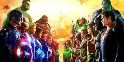 Marvel vs DC Craft Faire