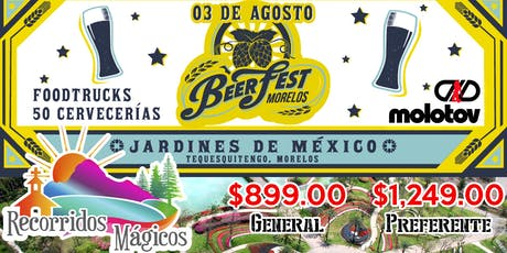 Beer Fest 2019 Jardines de México boletos