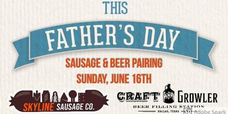 Father's Day Sausage & Beer Pairing! tickets
