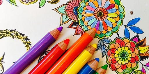 Coloring & Cocktails