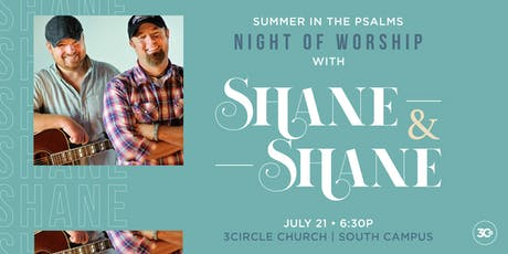 Night of Worship with Shane and Shane tickets