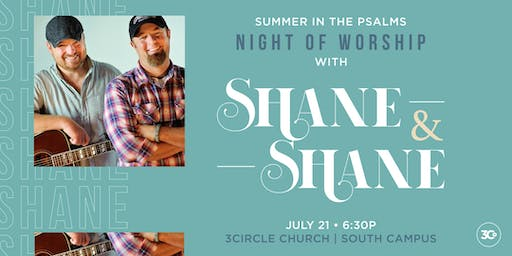Night of Worship with Shane and Shane