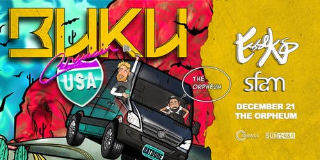 BUKU @ The Orpheum tickets