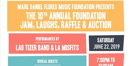 10th Annual Mark Daniel Flores Music Foundation tickets