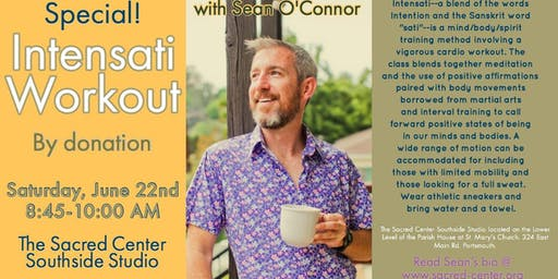 Intensati Workout with Sean O'Connor by Donation