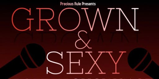 GROWN & SEXY POETRY SHOWCASE