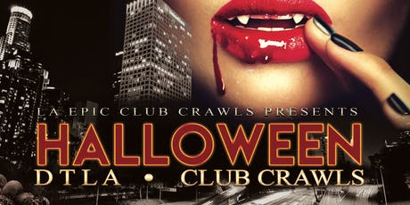 Halloween Downtown Los Angeles Club Crawl tickets