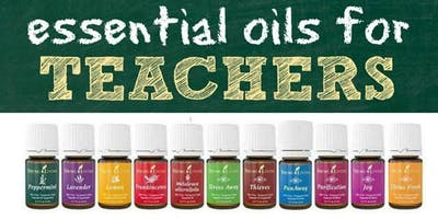 Back to School with Essential Oils for Teachers