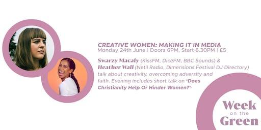 Creative Women: Making It In Media