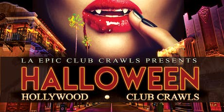2019 Halloween Hollywood Club Crawl tickets