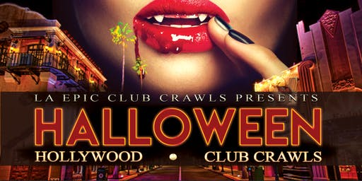 2019 Halloween Hollywood Club Crawl