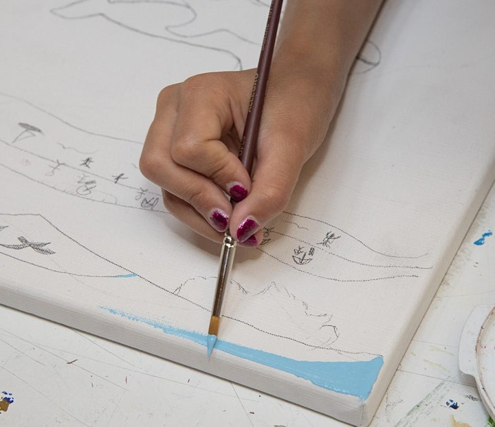 Children's Summer Art Workshop: Backyard Birds image