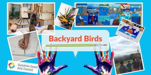 Children's Summer Art Workshop: Backyard Birds