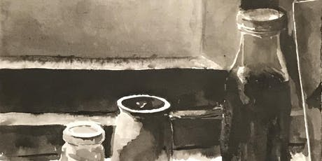 Intro to Black & White Ink Wash Painting tickets