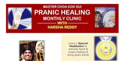 Pleasanton Pranic Healing Clinic