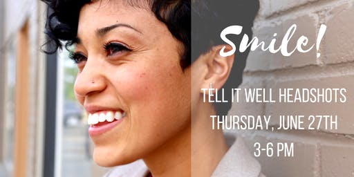 June 2019 Tell it Well Headshots with Amy K Wright Photography & Lisa Sharpe of Stylish Sparrow