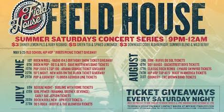 Summer Concert Ticket Giveaway Series tickets