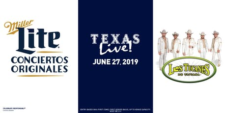 Miller Lite Conciertos Originales Presents: Los Tucanes de Tijuana - June 27 - Dallas, TX tickets