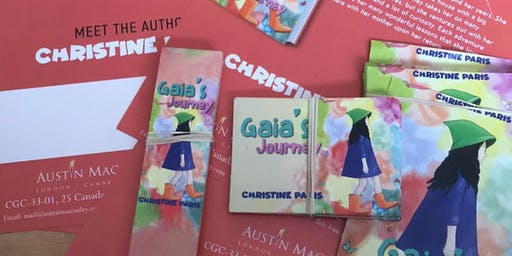 Local Author Reads from'Gaia's Journey'